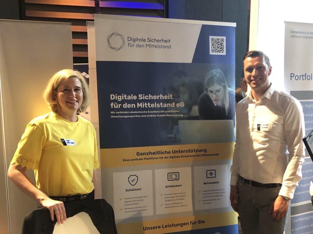 Digitale Sicherheit für den Mittelstand eG bei den Tech Days München
